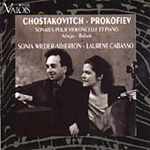 Prokofiev/Shostakovich: Sonatas for Cello and Piano (CD)