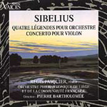 Sibelius: Violin Concerto; Legends (CD)
