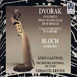 Dvorák: Cello Concerto No 2; Bloch: Schelomo (CD)