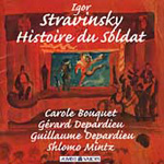 Stravinsky: The Soldier's Tale (CD)