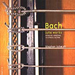 Bach: Lute Works (Original version for 10-string guitar) (CD)