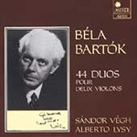 Bartók: Violin Duos (CD)