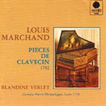 Marchand: Pieces de Clavecin (CD)