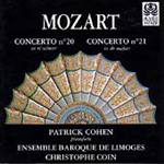 Mozart: Piano Concertos Nos. 20 and 21 (CD)