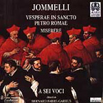 Jommelli: Choral Works (CD)