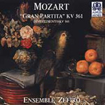Mozart: Serenade No 10,K361; Divertimento No 3, K166 (CD)