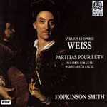 Weiss: Partitas for Lute (CD)