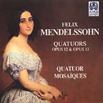 Mendelssohn: String Quartets Nos 1 & 2. (CD)