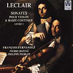 Leclair: Violin & Continuo Sonatas (CD)