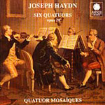 Haydn: Six Quartets Op 20 (CD)