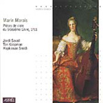 Marais: Pieces for Viol, Book 3 (CD)