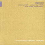 Nono: Orchestral Works (CD)