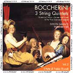 Boccherini: 3 String Quintets (CD)