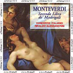 Monteverdi: Madrigals, Book 2 (CD)