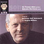 Sir Thomas Allen - Song Recital (CD)