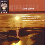 Dutilleux; Ligeti; Nancarrow: String Quartets (CD)