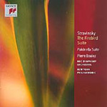 stravinsky the firebird suite an analysis Translating the musical language of stravinsky'sthree  this analysis will serve  ansermet says that in a performance of the firebird suite.