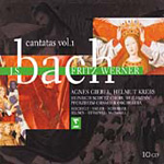 Bach: Cantatas, Vol 1 (CD)