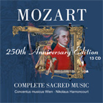Mozart 250th Anniversary Edition - Complete Sacred Works (CD)