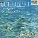 Produktbilde for Schubert: Trout Quintet/Quartet in A Minor (UK-import) (CD)