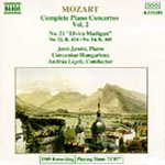 Mozart: Piano Concertos, Vol. 2 (CD)