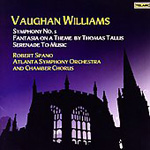 Vaughan Williams: Symphony No 5; Tallis Fantasia; Serenade to Music (CD)