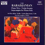 Babadjanyan: Chamber Works (CD)