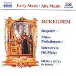 Ockeghem: Requiem; Missa Prolationum (CD)