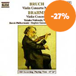 Produktbilde for Brahms; Bruch: Violin Concertos (CD)