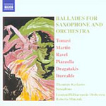 Ballads for Saxophone and Orchestra (CD)
