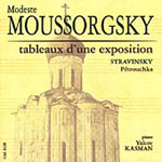 Mussorgsky/Stravinsky: Piano Works (CD)