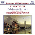 Vieuxtemps: Violin Concertos Nos 1,4 (CD)