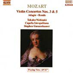 Mozart: Works for Violin and Orchestra (CD)