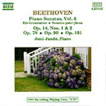 Beethoven: Piano Sonatas, Vol. 6 (CD)