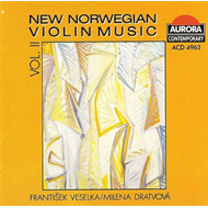 New Norwegian Violin Music, volume II (CD)