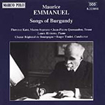 Emmanuel: Songs of Burgundy (CD)