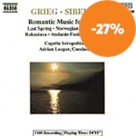 Produktbilde for Grieg & Sibelius:  Romantic Music for Strings (CD)