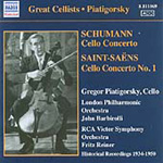 Saint-Saëns; Schumann: Cello Concertos (CD)