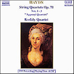 Haydn: String Quartets, Op. 71 (CD)