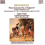 Beethoven: Piano Concertos 2 and 5 (CD)