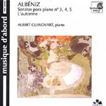 Albéniz: Piano Sonatas (CD)