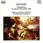 Mozart: Cassations (CD)