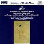 Maes: Orchestral Works (CD)