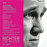 Richter - The Master Vol. 3: Scriabin, Prokofiev, Shostakovich (2CD)