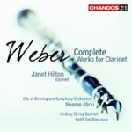 Weber: Complete Clarinet Works (CD)