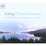 Grieg: Piano Concerto, Op 16; Autumn, Op 11 (CD)