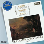 Ashkenazy - Chopin/Debussy/Ravel (CD)