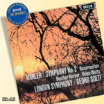 "Produktbilde for Mahler: Symphony No. 2 ""Ressurection"" (CD)"