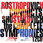Rostropovich Conducts Shostakovich - The Complete Symphonies (CD)
