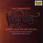 Produktbilde for Rachmaninov: Vespers (UK-import) (CD)